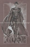 Superman Man of Steel  2013 WIP. by scotty309