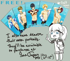 Free! portrait posters by OOT-Link