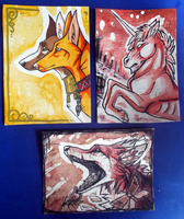 ACEO 16-18 by Birkfuchs