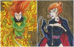 TWO Jean Grey artist proof commissions by mdavidct