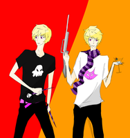 the lalonde boys by trippingoverisolines