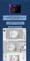 How to colour a traditional drawing? - tutorial by LastKrystalDragon