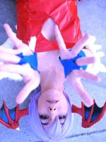 Lilith Aensland DARKSTALKERS 01 by LarbillaCosplay