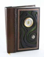 Small Clock Journal by McGovernArts