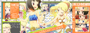 Kiniro Mosaic Theme for AtA by tammypain