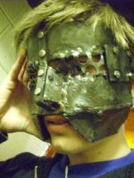 Me with mask 6 by AnarchySoda