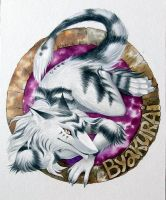 Byakurai. Badge by Neko-Art