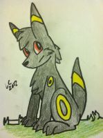 Umbreon by LightCloud-DarkCloud
