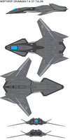 FA-37  Talon stealth fighter by bagera3005