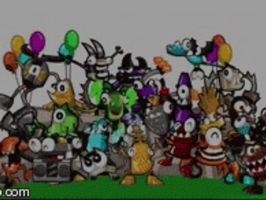 party time! GIF by TheMixelPuffin83