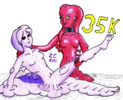 35000 by Zoe-the-Pink-Ranger
