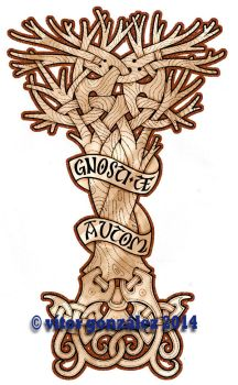 Celtic Tree Of Life by twistedstrokes