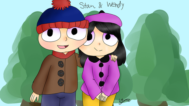 Stan and Wendy by CookieBot990
