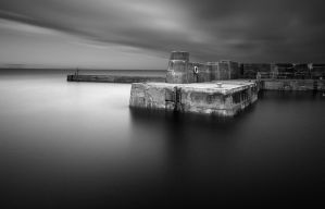 Black pier by marcopolo17