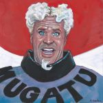 Mugatu from Zoolander Gouache Painting... by ssava