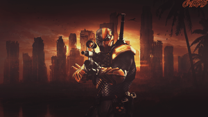 DeathStroke - 1080p Wallpaper by Omegas82128