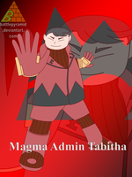 Team Magma Poster - Tabitha by BattlePyramid