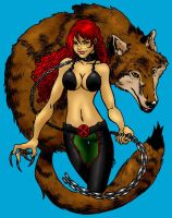 Rahne Sinclair, Wolfsbane by Ginjirou