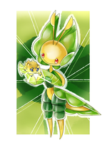 PKMN 20th Anniversary Trial - Day 10 - Bug Type by MintAnnComics
