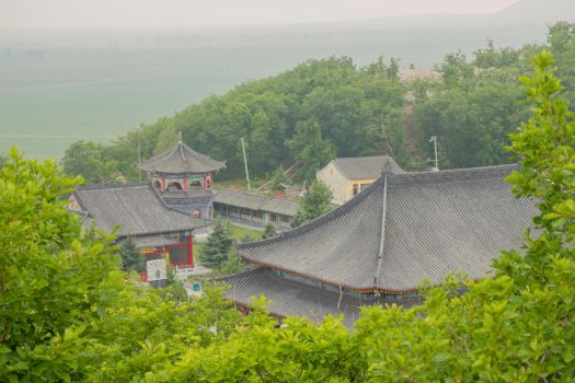 Chinese temple. Udalyanchi - China. by evgen-eao