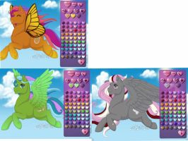 1 point pony adopts (open) by Pug--adopts