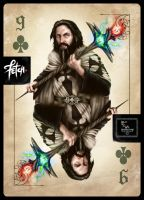 ToT Card Game YOUNG MAGICIAN by FranciscoETCHART