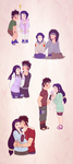 KibaHina ~ Through the years by chachi411