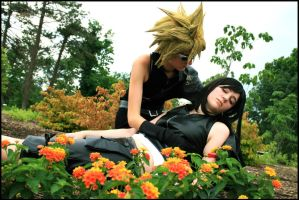 .FFVII. Couldn't Protect You by zhellyzee