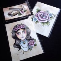 New paintings in the shop! by misscoffee