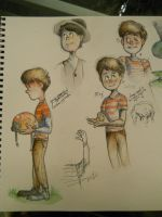 Ted Sketches by some-hipster