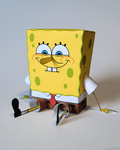 Spongebob Papercraft by kamibox