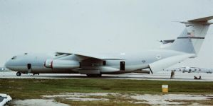 C-141A Starlifter by sentinel28a