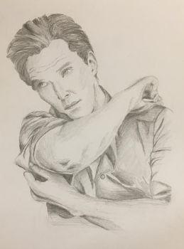 Benedict Cumberbatch by LCC12345678