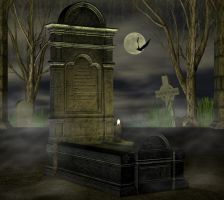 Background Gravestone by Twins72