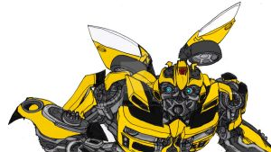 DOTM Bumblebee half by ConstantM0tion