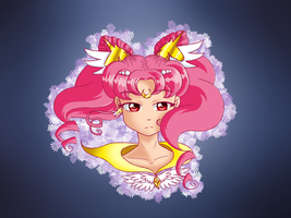 Eternal Sailor Pegasus Moon by Drawtaru