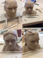Sculpting process by Kthco