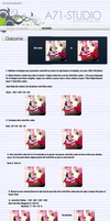 Shugo chara tutorial by recuerdin