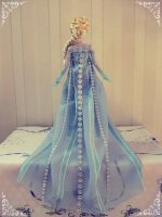 OOAK DS Singing Elsa 2014 backview by Yuki87