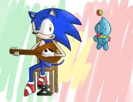 Sonic and Tuga Fados Night by CrazyJefffersonian