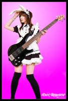 Bunny Bass by darkromantics