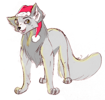 Santa Paws by smish
