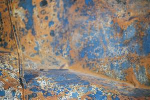 Copper, Midnight Blue, White, Silver by HerbstHayabusa