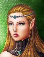 Queen of elves by TanyaGreece