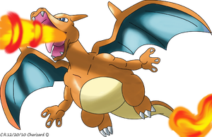 Charizard revamped by Phatmon