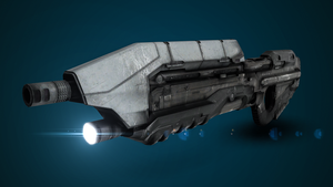 Halo Online Assault Rifle 1 by XInfectionX