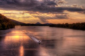 Jetski on the Arkansas River by joelht74