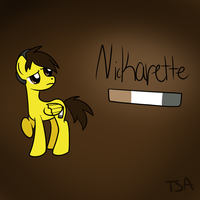 Nickarette by TheShadowArtist100