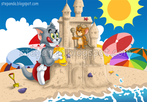 Tom and Jerry by StePandy