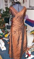Copper Holiday Gown Const. 03 by Syagria